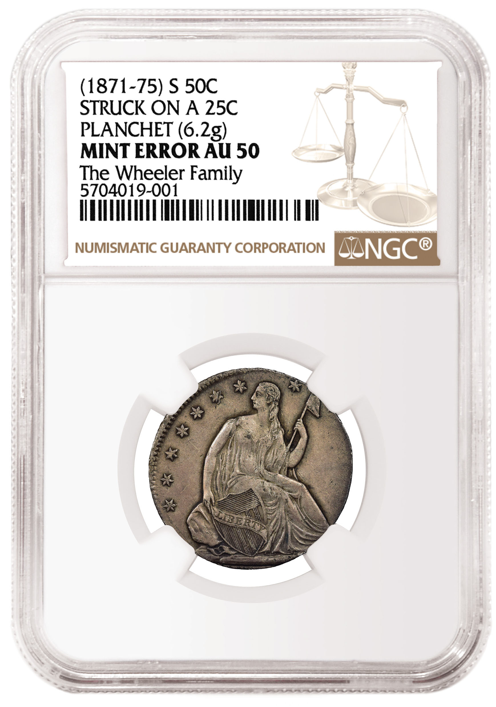 """I have never handled a more interesting error coin,"" said Ian Russell, president of GreatCollections."
