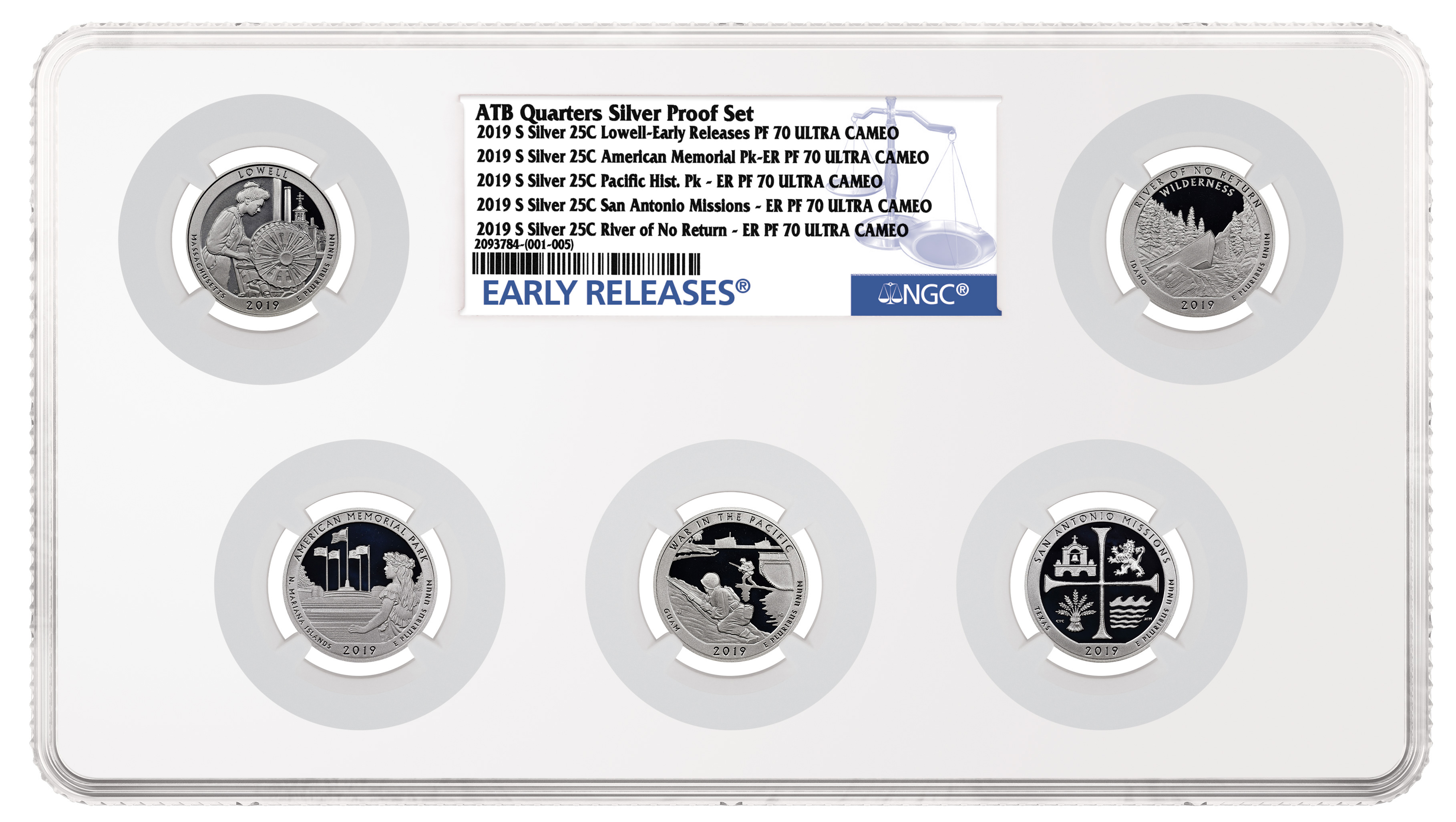 main image for NGC Introduces Multi-Coin Holder for 4, 5 or 6 Coins