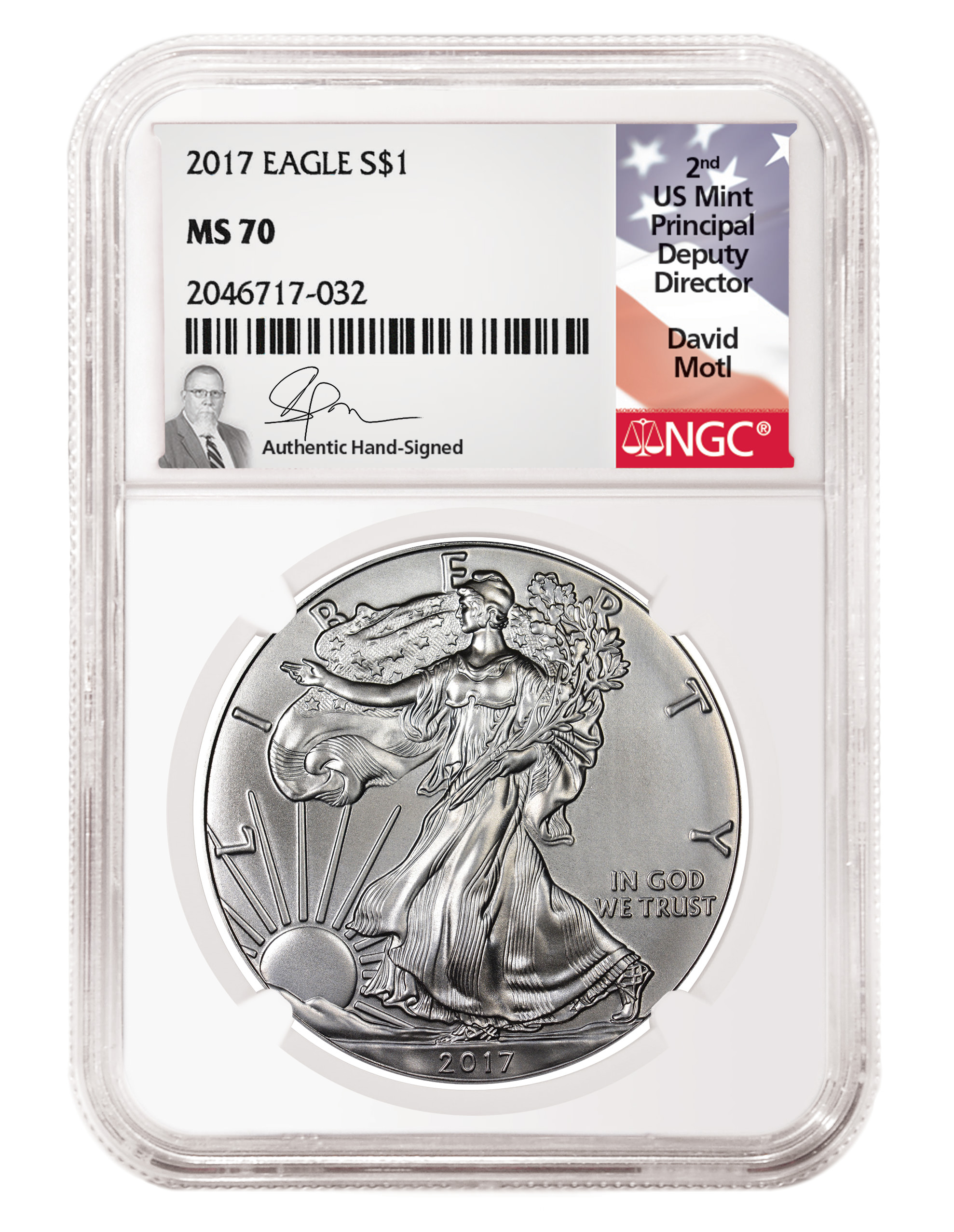 main image for David Motl, Former Chief Administrative Officer / Acting Principal Deputy Director of the US Mint, Agrees to Exclusive NGC Signature Label Deal