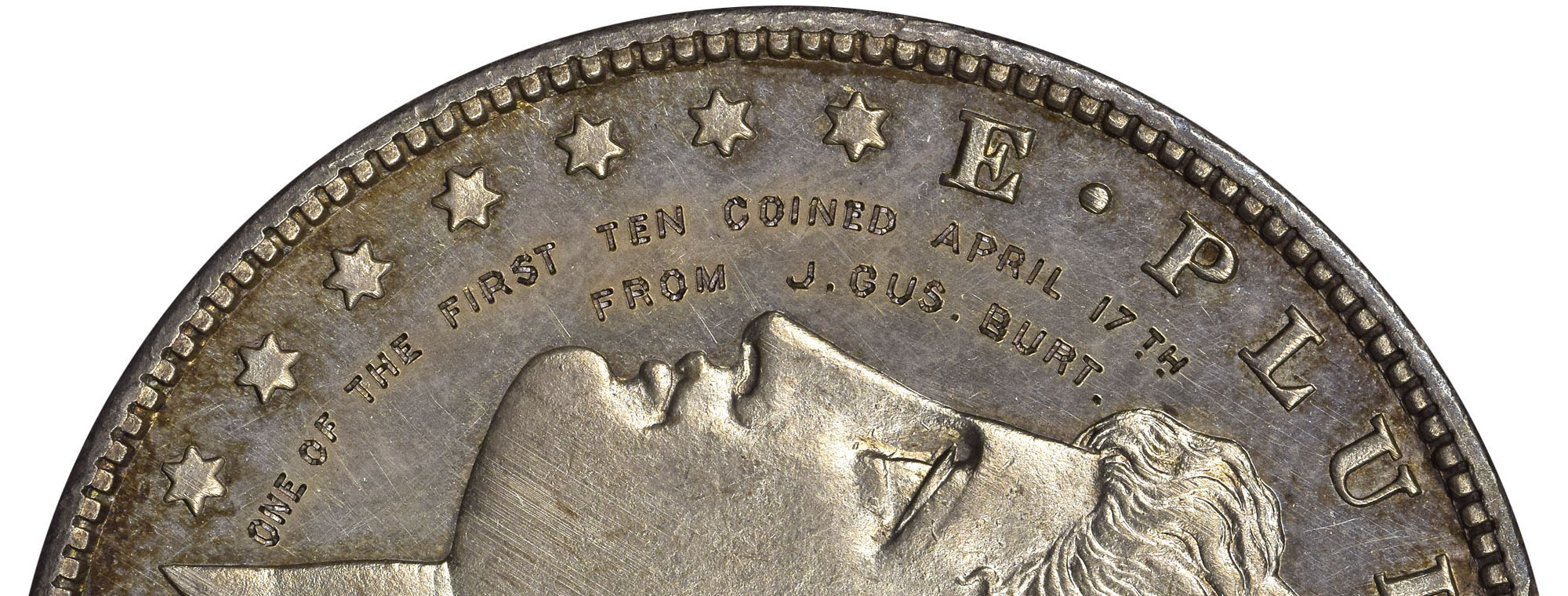 main image for NGC Grades One of the First Morgan Dollars  Struck in San Francisco