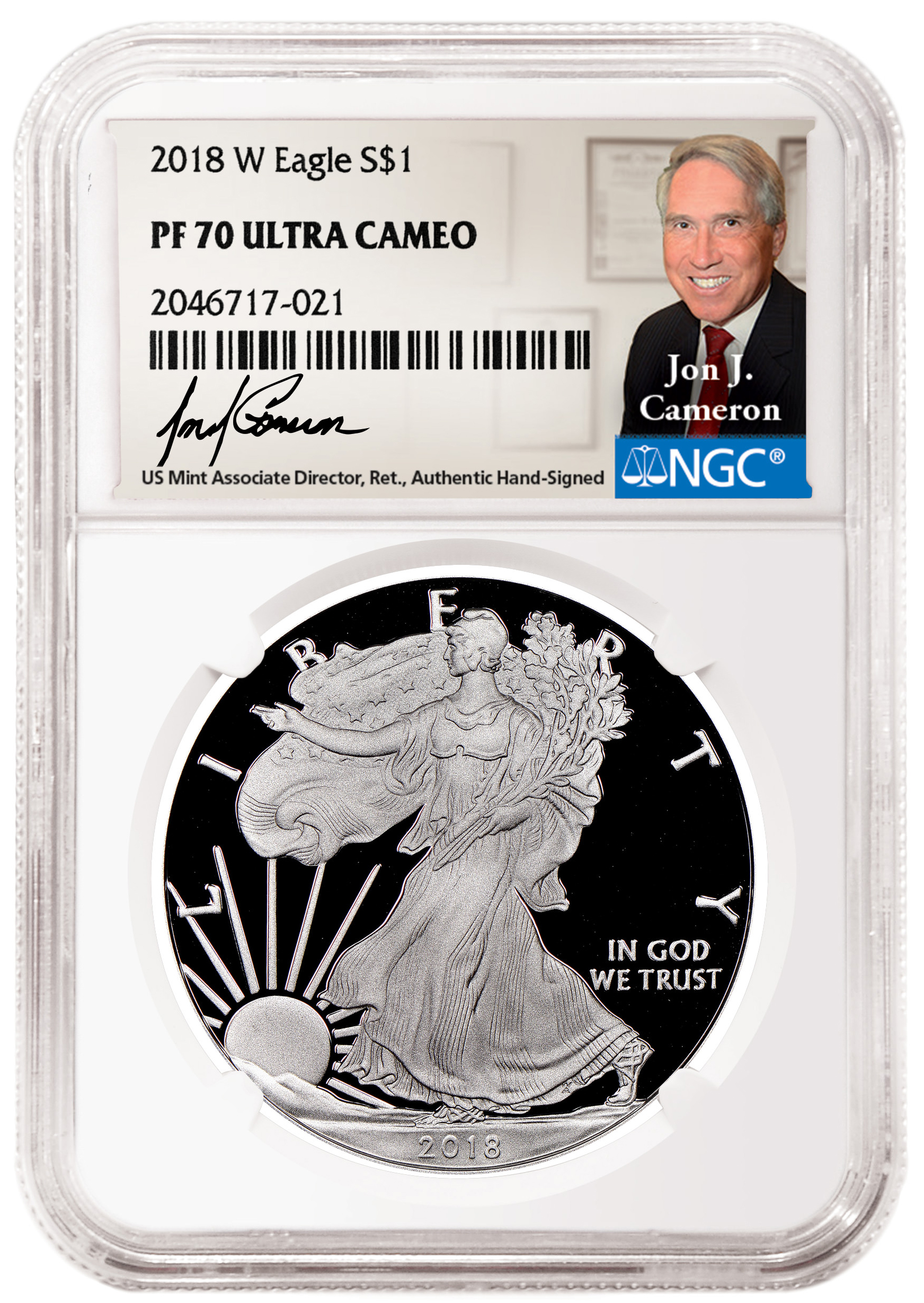 main image for Veteran US Mint Official Jon Cameron Joins  NGC Program of Hand-Signed Labels