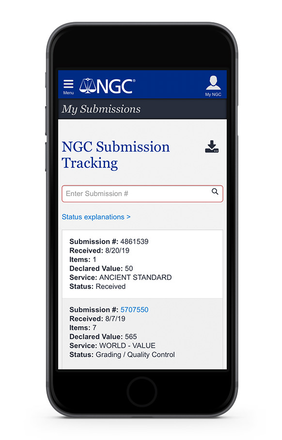 main image for NGC Adds Submission Tracking to NGC Mobile App