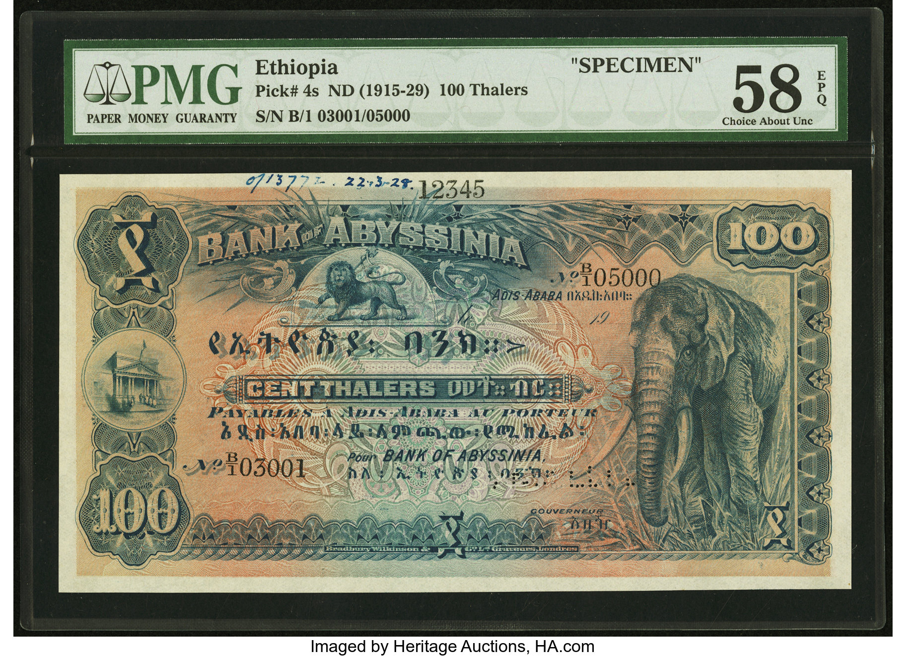 main image for Patrick's Top 5 Picks at the Heritage Long Beach World Paper Money Auction