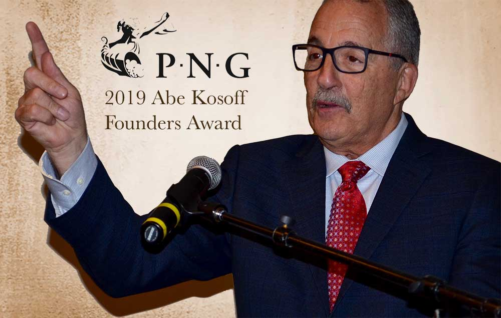 thumbnail image for Paul Nugget Awarded Abe Kosoff Award by PNG