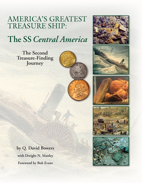 main image for Press Release: New Secrets of SS Central America Treasure Revealed in Bowers-Manley Book
