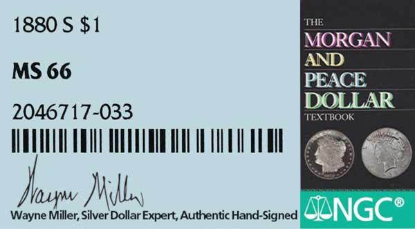 Wayne Miller hand-signed NGC label