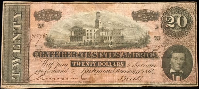 thumbnail image for CDN has completed the pricing of Confederate Notes