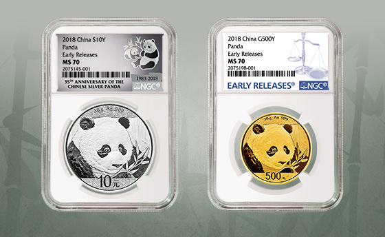 main image for PRESS RELEASE: NGC Special Label & Designation for 2018 Pandas