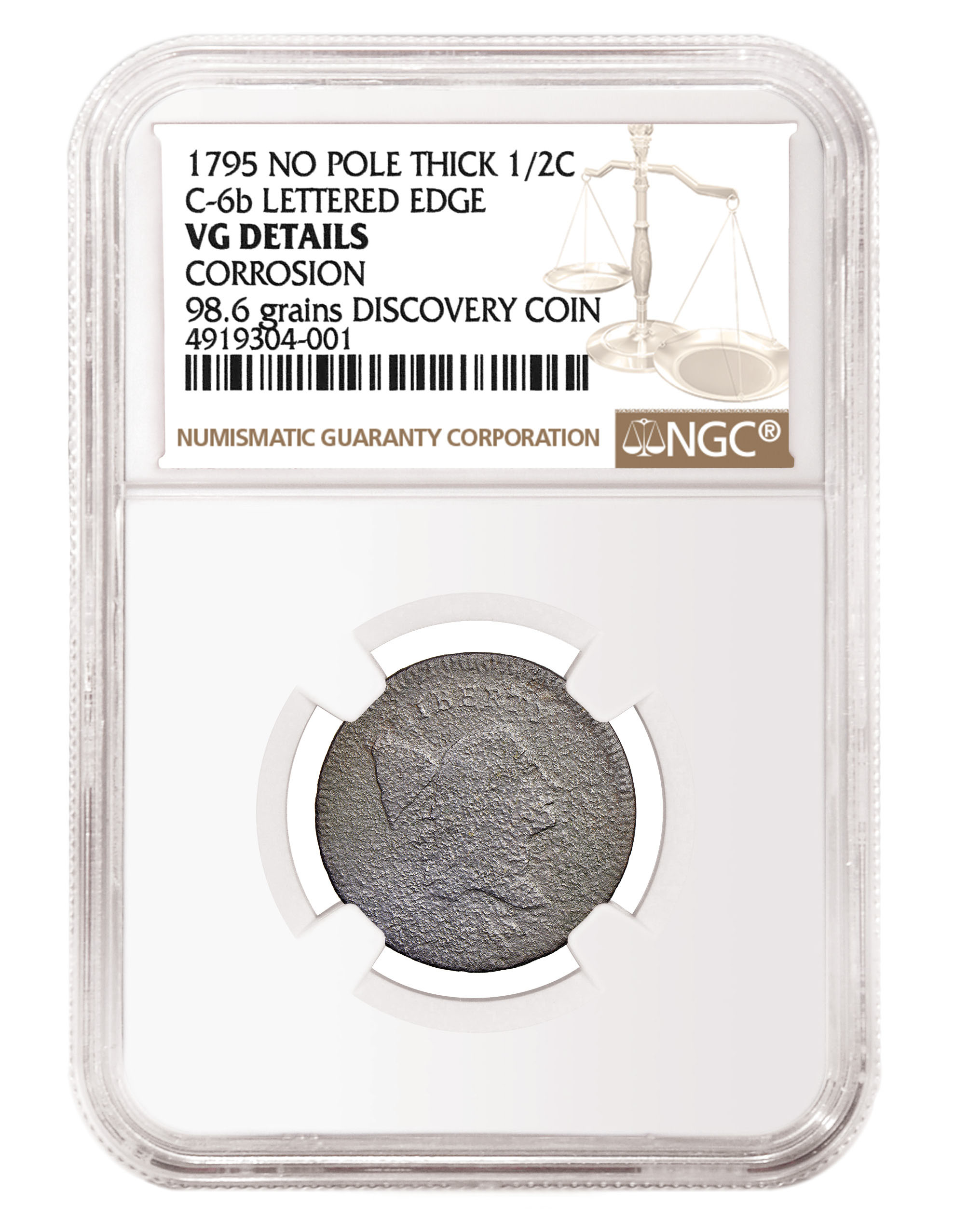 main image for NGC Certifies New Half Cent Variety