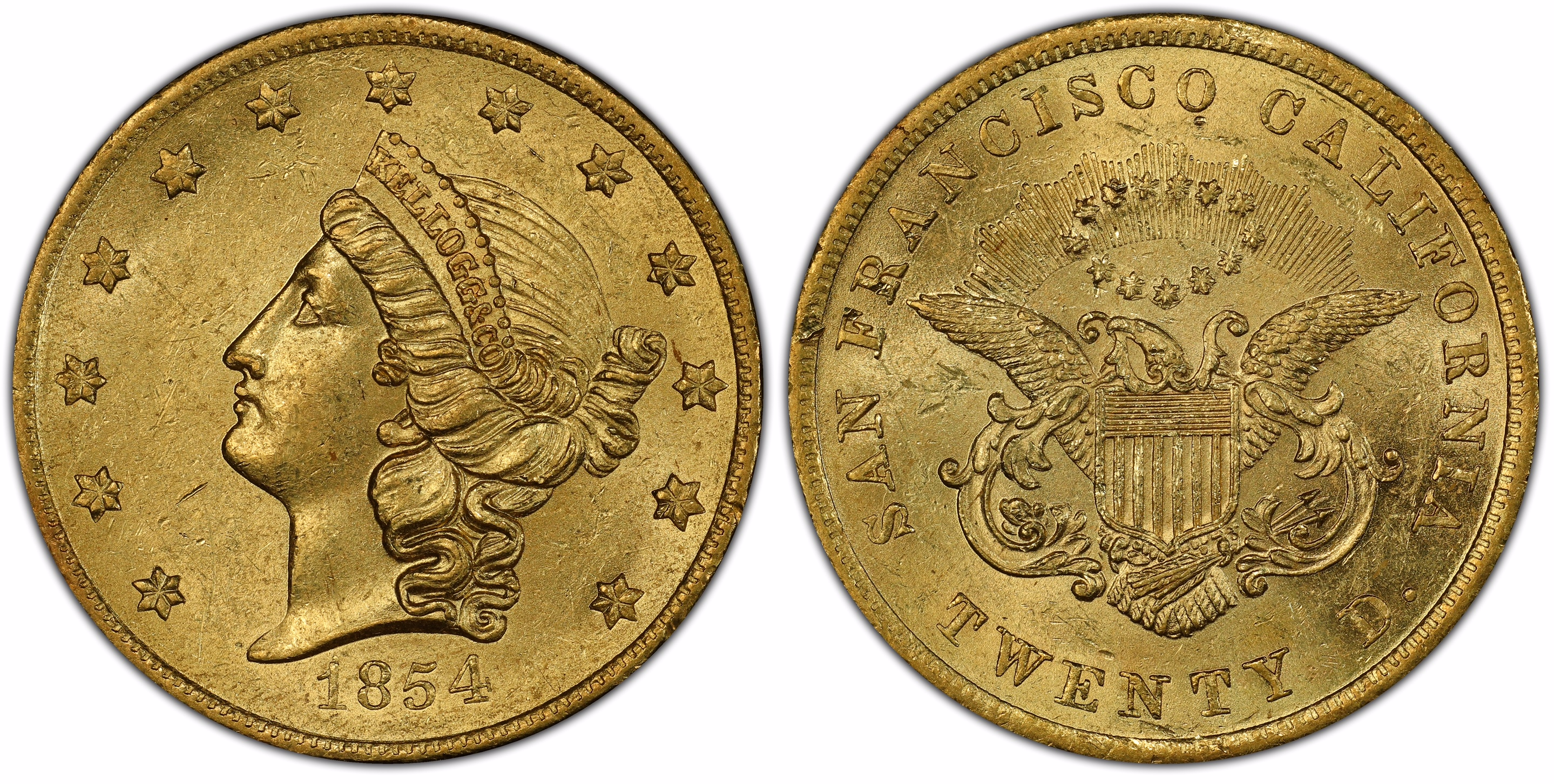 main image for Unprecedented Grouping of Rare Territorial  Gold Coins Aboard SS Central America Treasure
