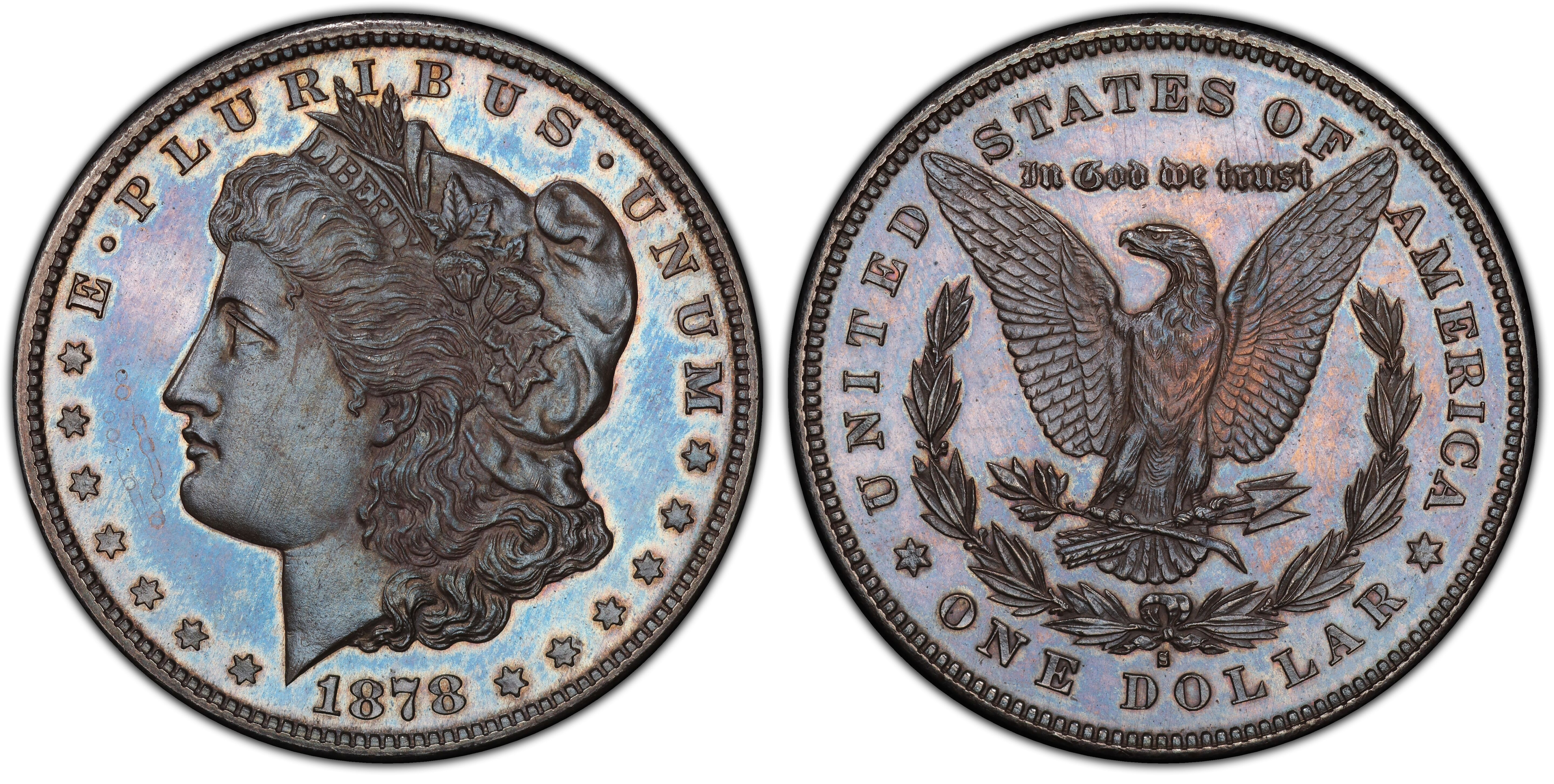 main image for First Known 1878-S Specimen Morgan Dollar Authenticated by PCGS