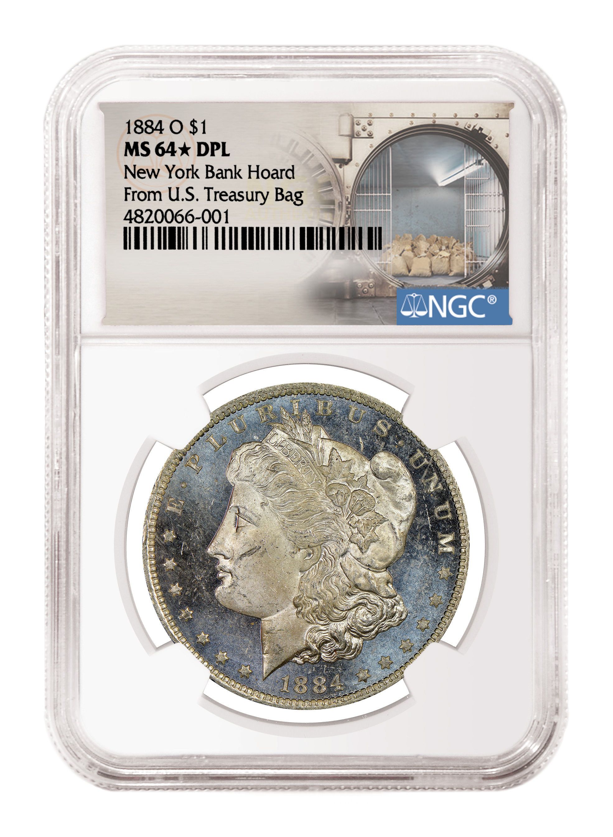main image for 16,000 Morgan Dollars From New York Hoard Graded By NGC