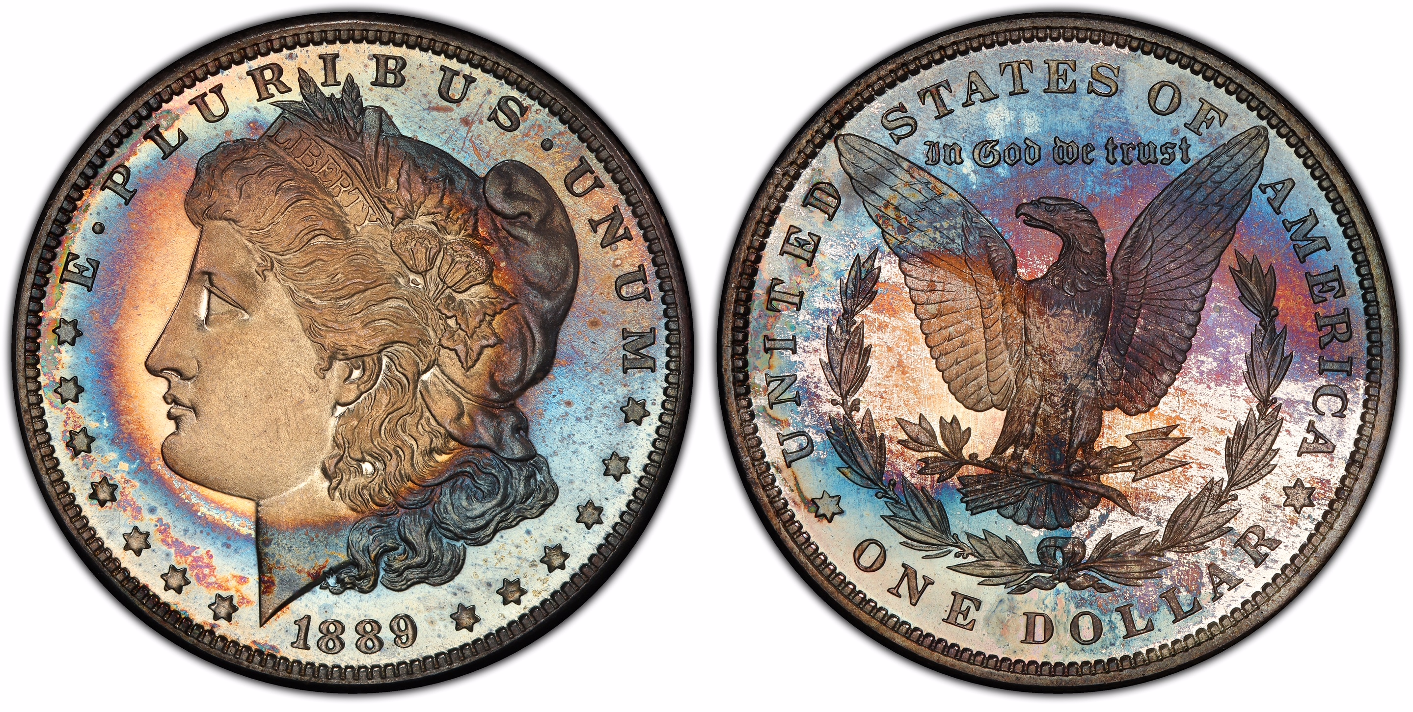 thumbnail image for Incredible Finest Proof Morgans Set Will Be Exhibited By PCGS Set Registry At 2019 FUN