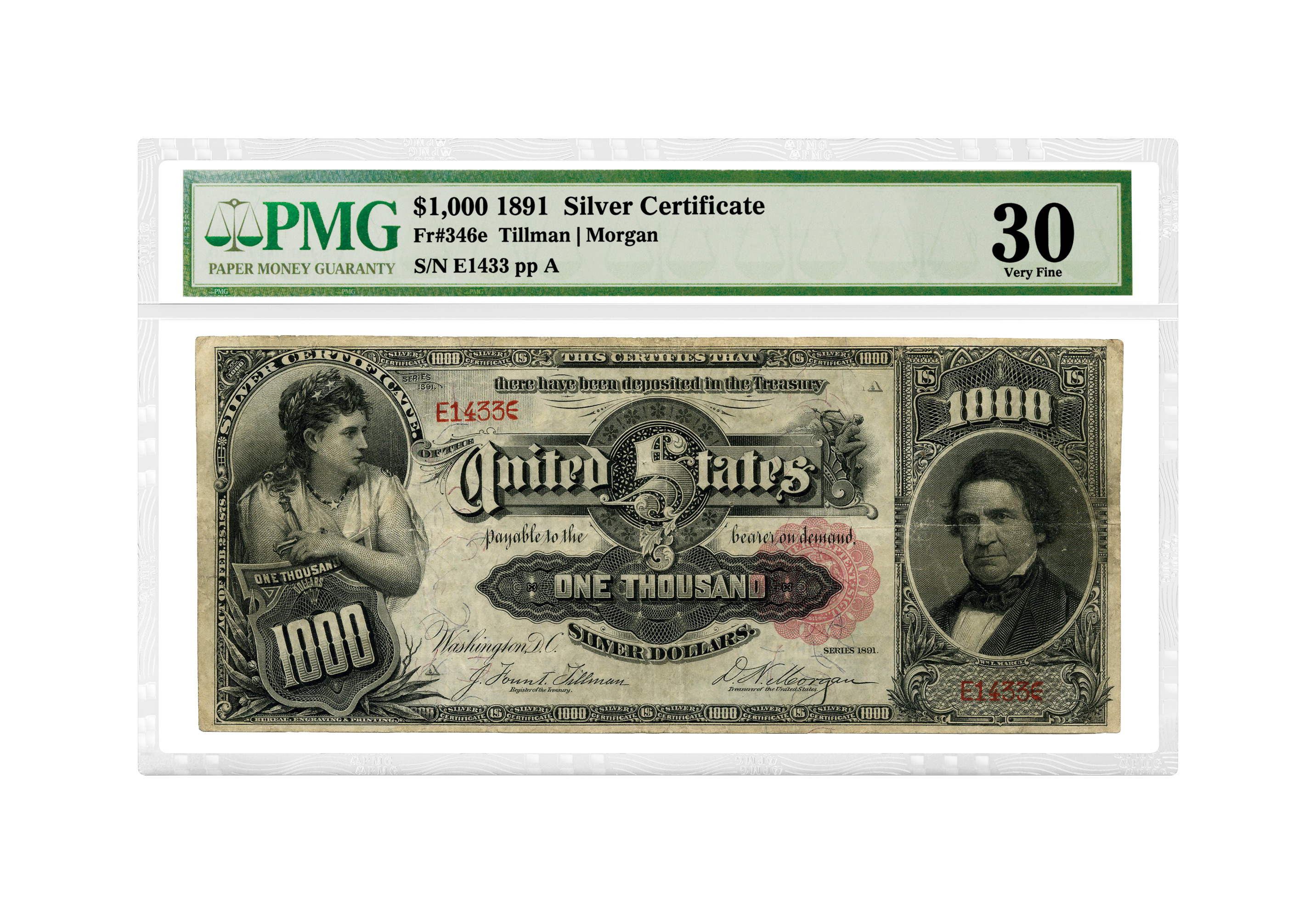 thumbnail image for Three Million-Dollar Notes Recertified By PMG Under Its New Crossover Service