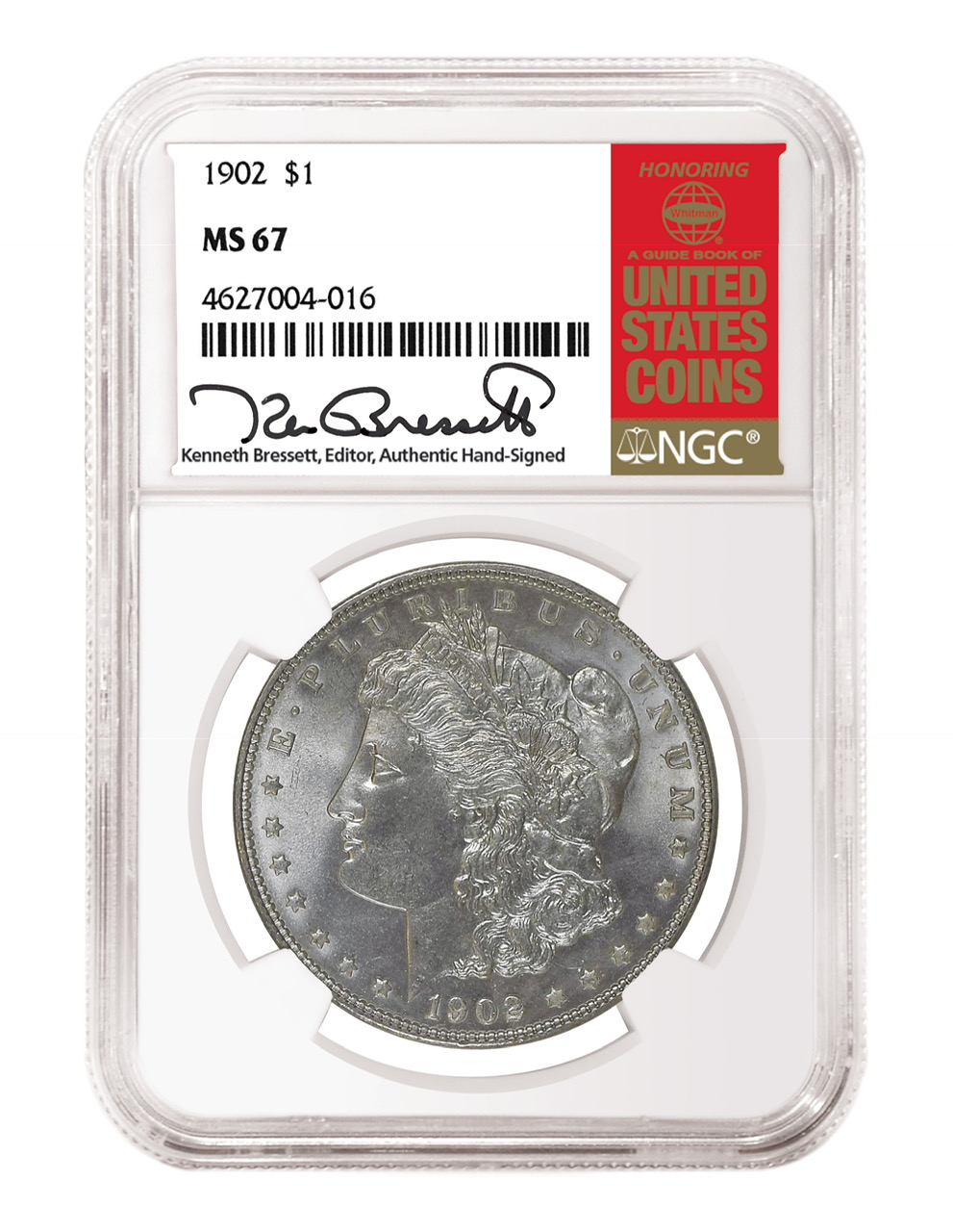 main image for NGC Labels Hand-Signed by Kenneth Bressett Now Available from Westminster Mint