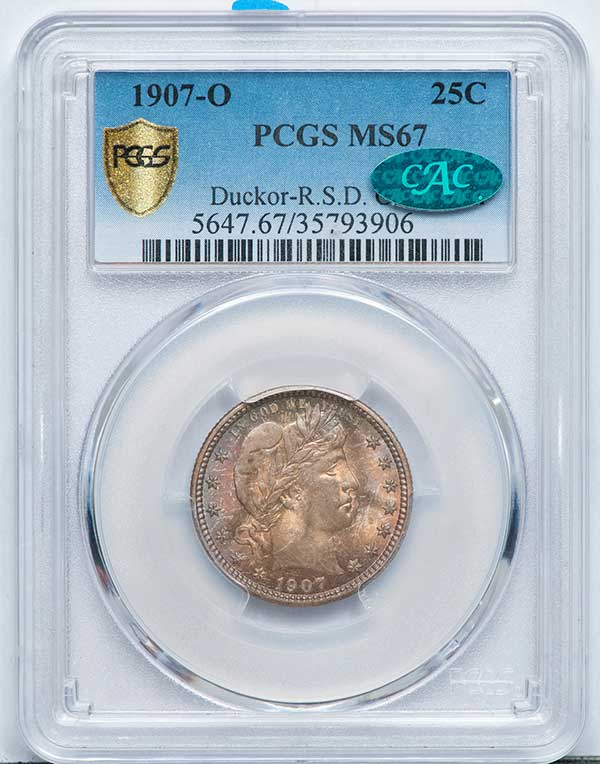 main image for Major Coin Collections Draw Record Bidding in Legend's 30th Regency Auction in Beverly Hills