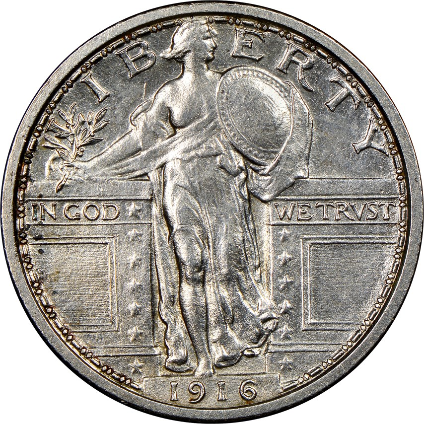 main image for Rare 1916 Standing Liberty Quarter Pattern Discovered, Heading for Auction