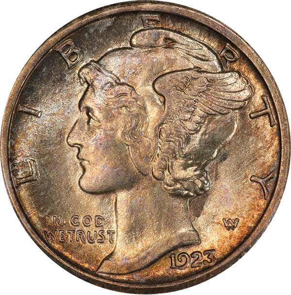 enlarged image for Mercury Dimes: A Timeless Series In The Spotlight Again