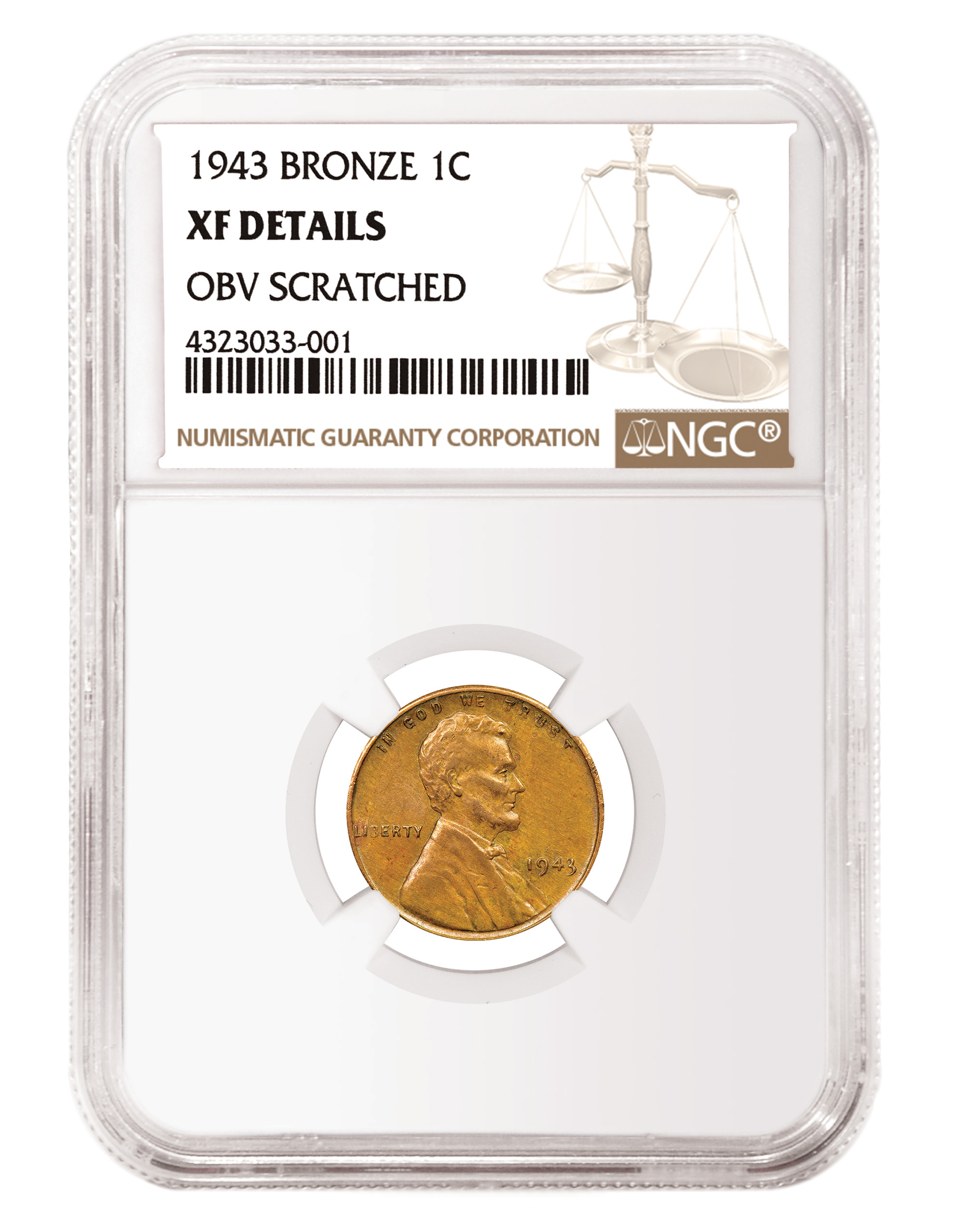 main image for NGC Certifies Rare 1943 Copper Cent