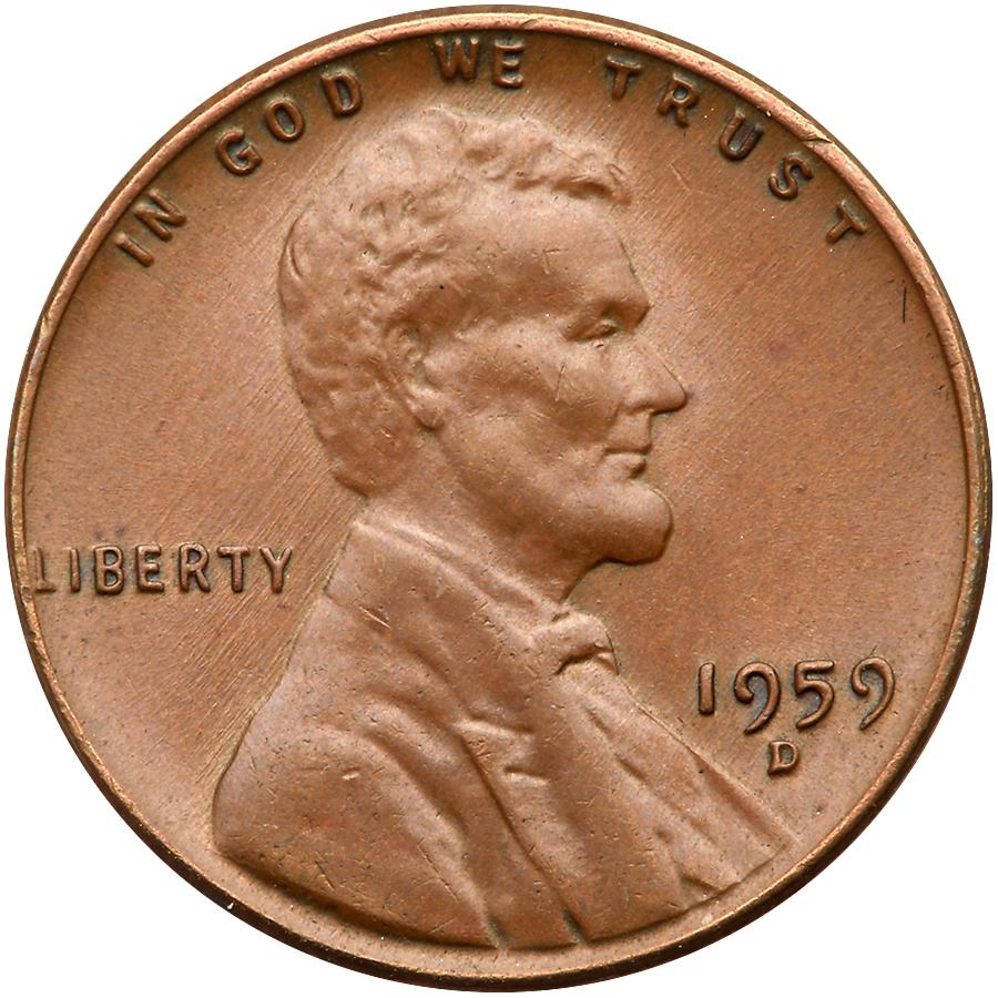 thumbnail image for Unique 1959-D Lincoln Wheat Cent Will Turn Heads At Goldberg Auction