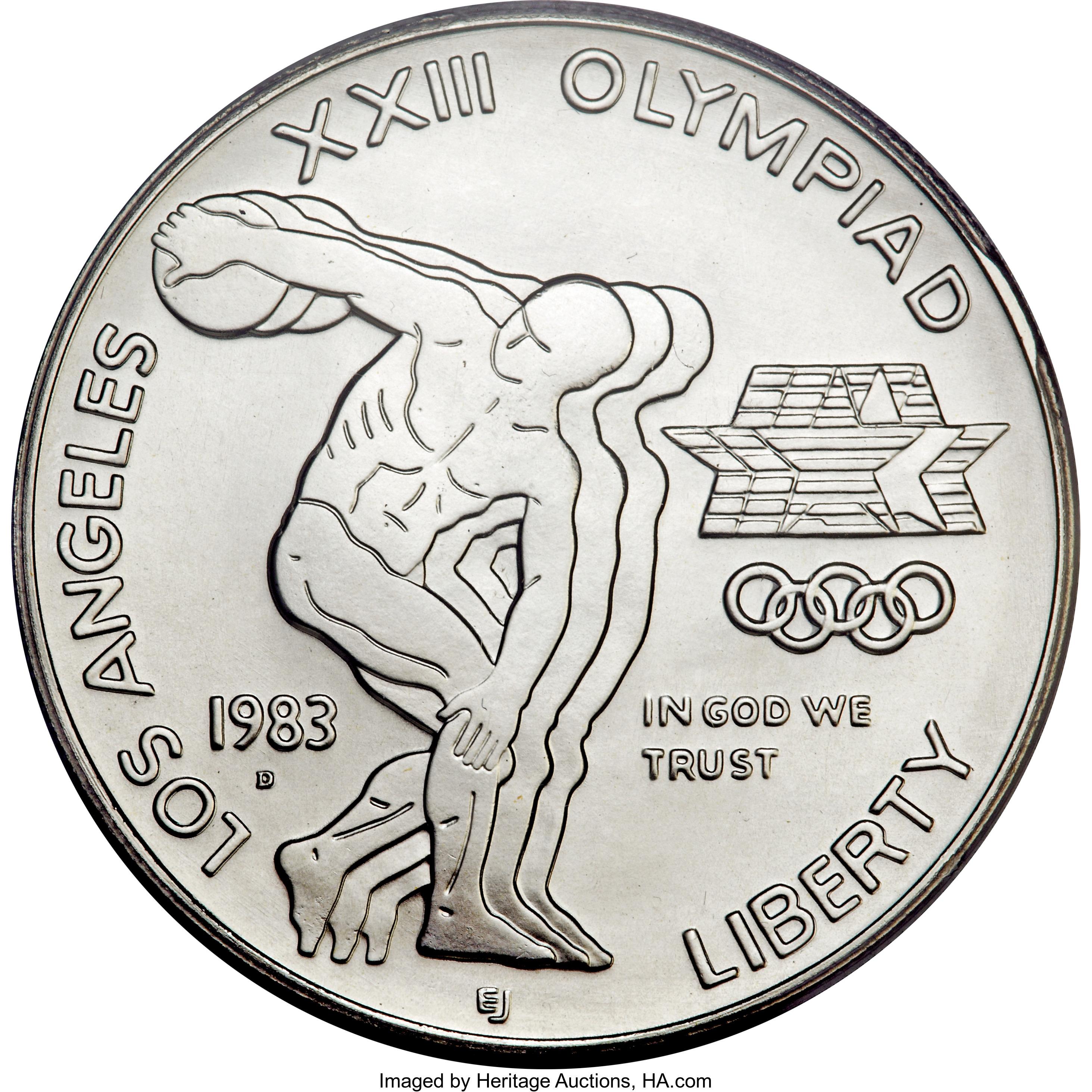 1983 Olympic Dollar