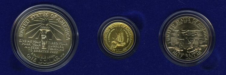1986 Statue of Liberty Coins