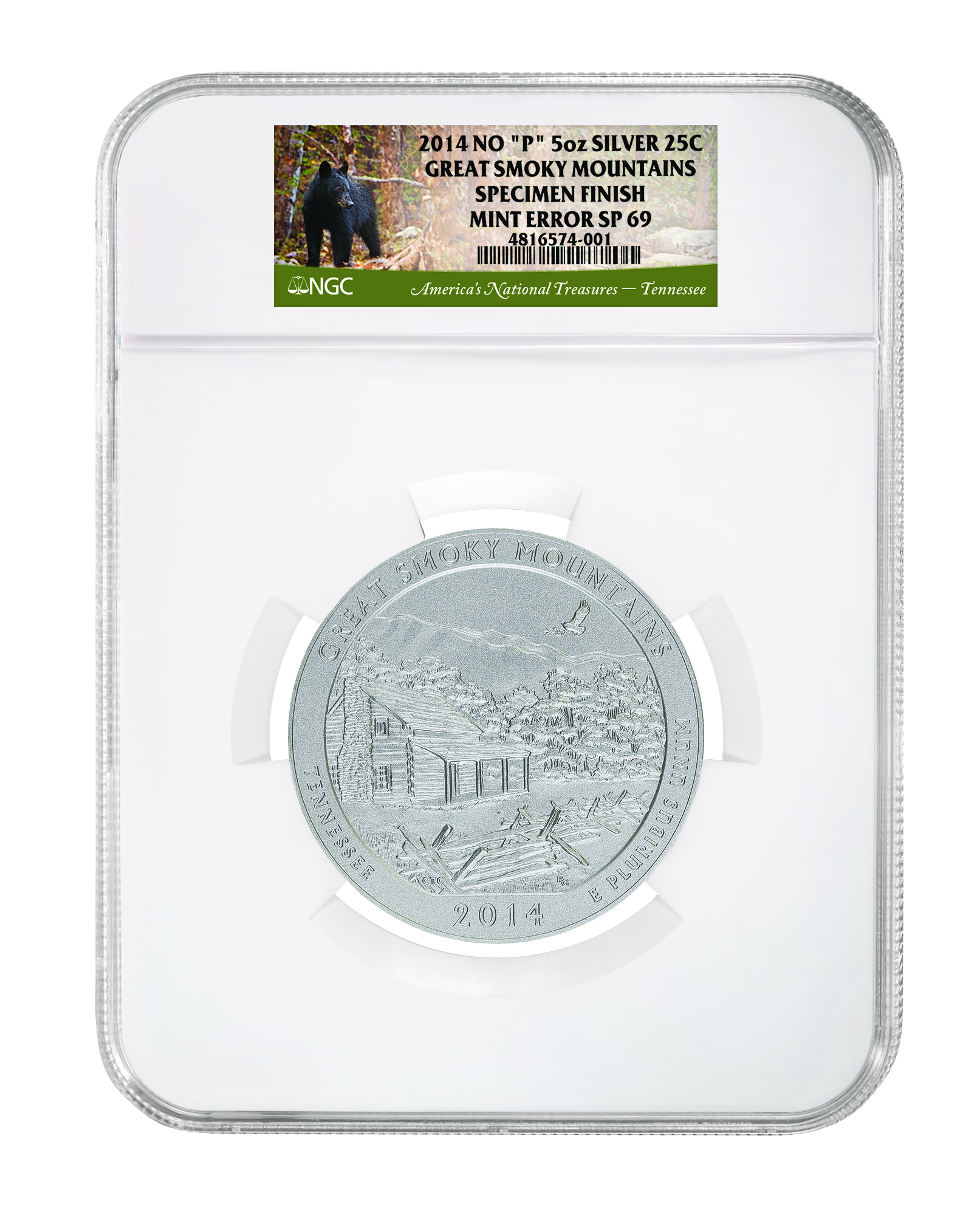 main image for New No-Mintmark Error Discovered On 2014 ATB Silver Coins