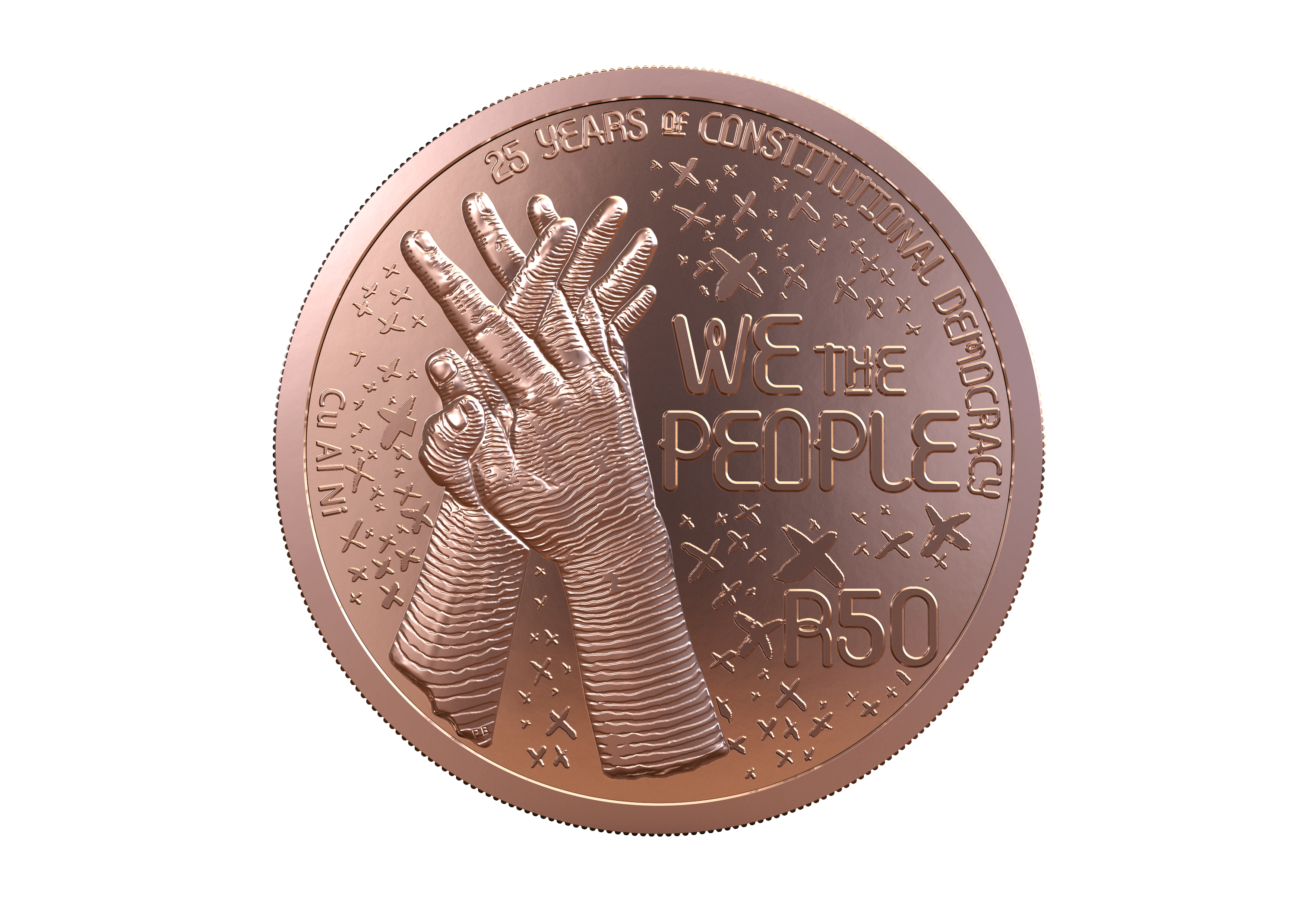 main image for South African Mint Commemorates 25 Years Of Democracy in South Africa With New Coins