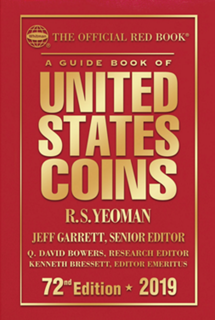 """main image for New """"Red Book"""" Lists More Die Varieties, Commemoratives & Sets"""