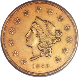 $50 Wass Molitor Company Territorial Gold
