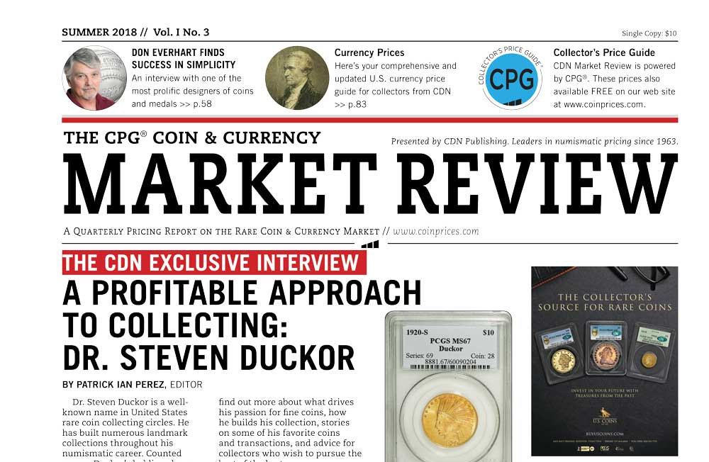 main image for A PROFITABLE APPROACH TO COIN COLLECTING: DR. STEVEN DUCKOR