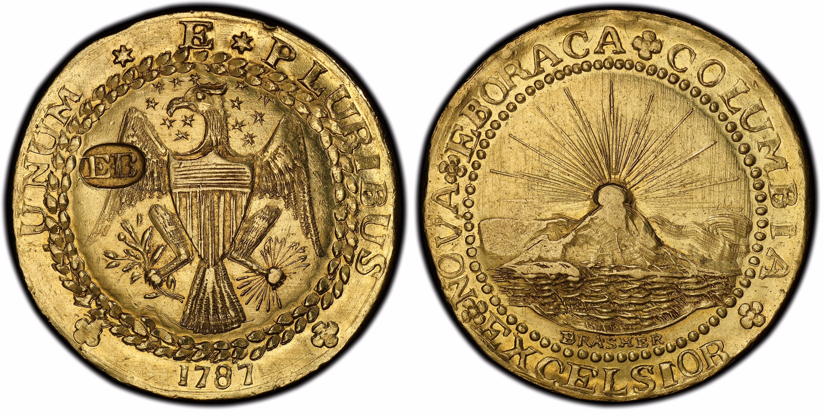 thumbnail image for Fabled Brasher Doubloon and Historic New York Coppers in PCGS Exhibit at Next Long Beach Expo