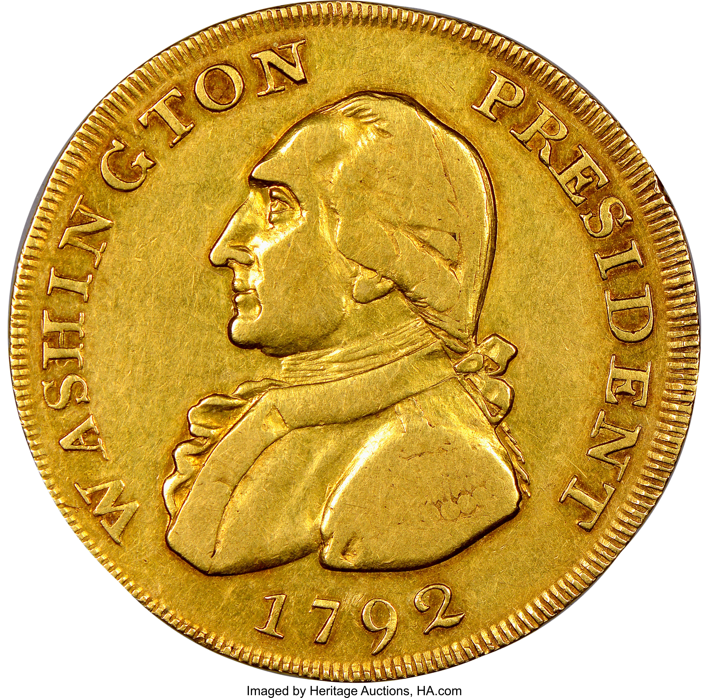thumbnail image for The 1792 Gold Piece that Might Have Once Jingled in George Washington's Pocket Sold for $1.74 Million in Philadelphia