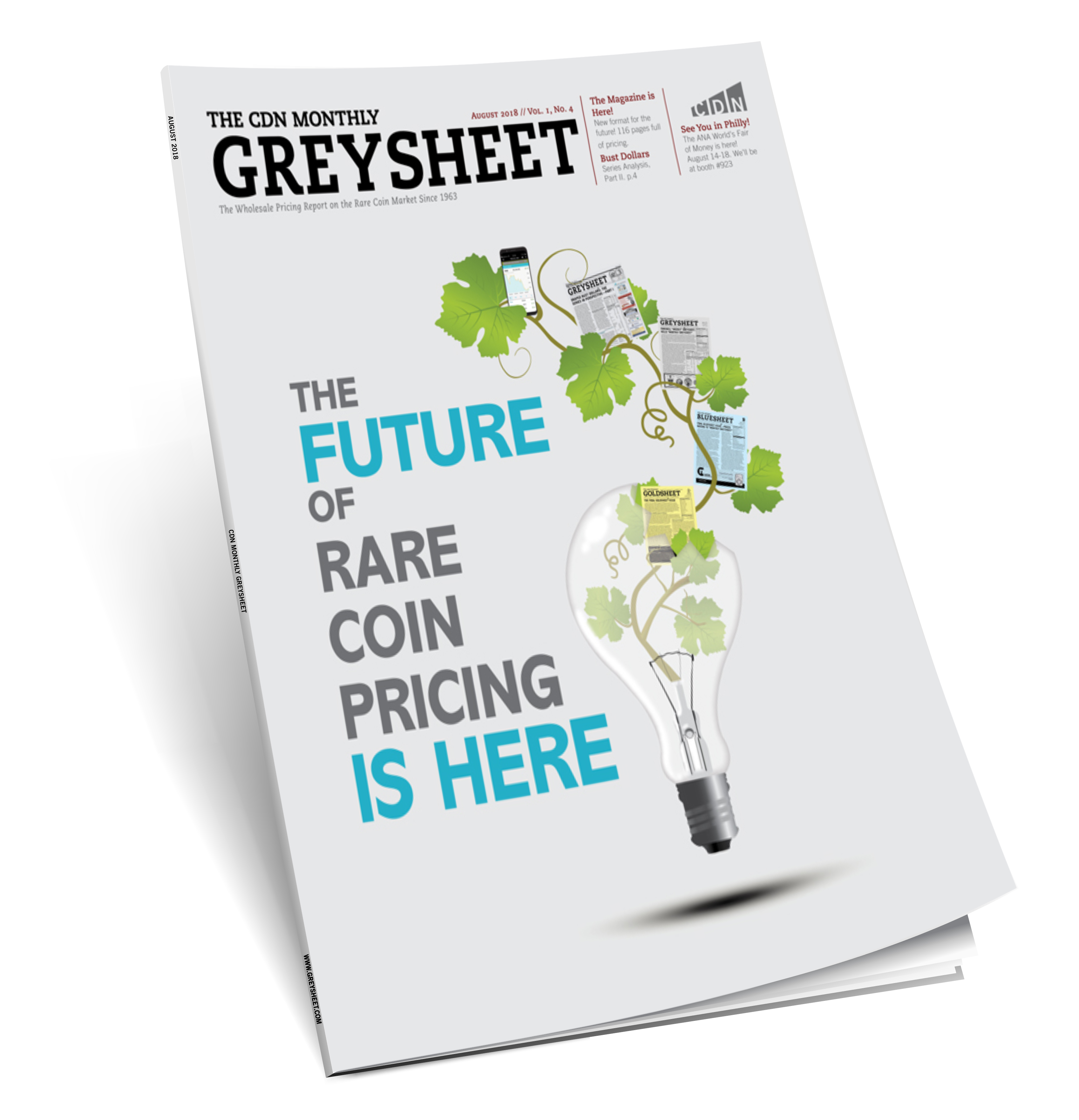 thumbnail image for August Monthly Greysheet Hot off the Press in Magazine Format