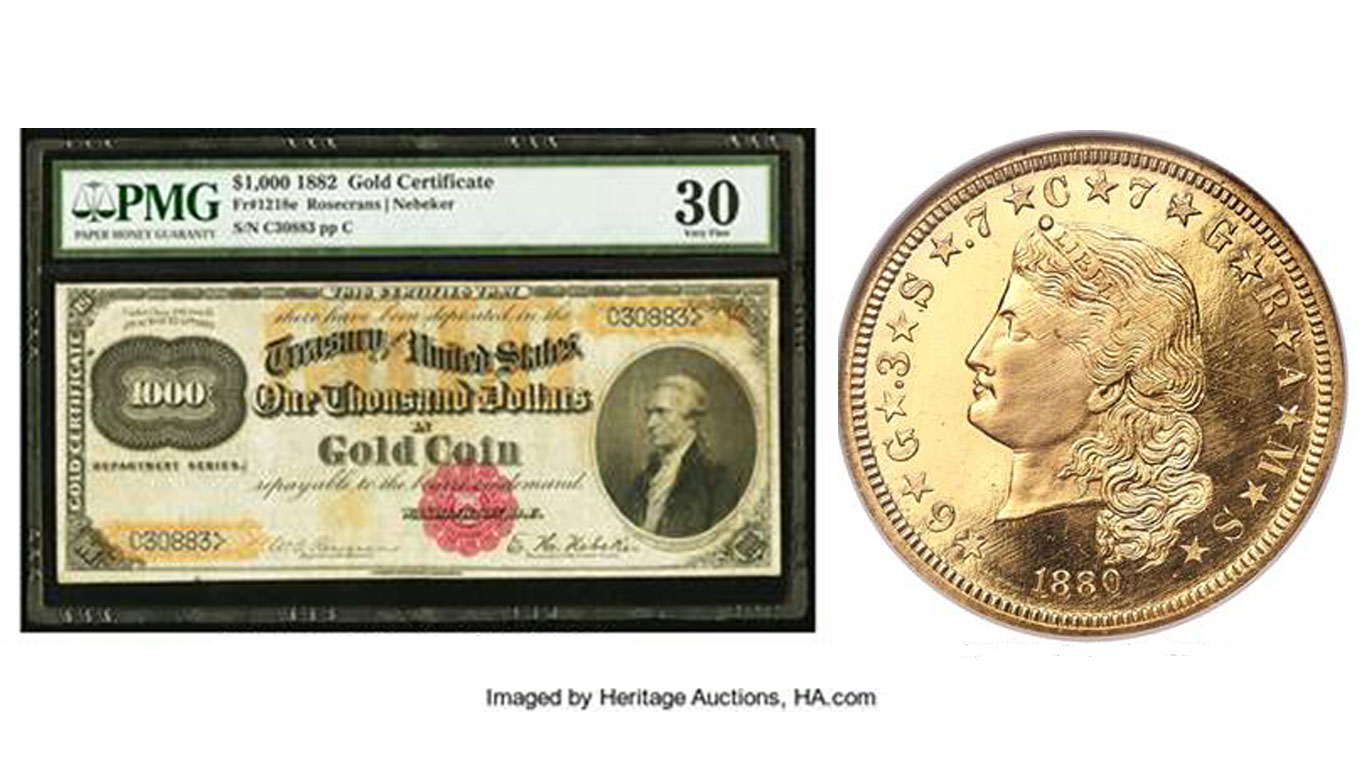 main image for PRESS RELEASE: Heritage Florida and New York Numismatic Auctions Exceed $71.9 Million