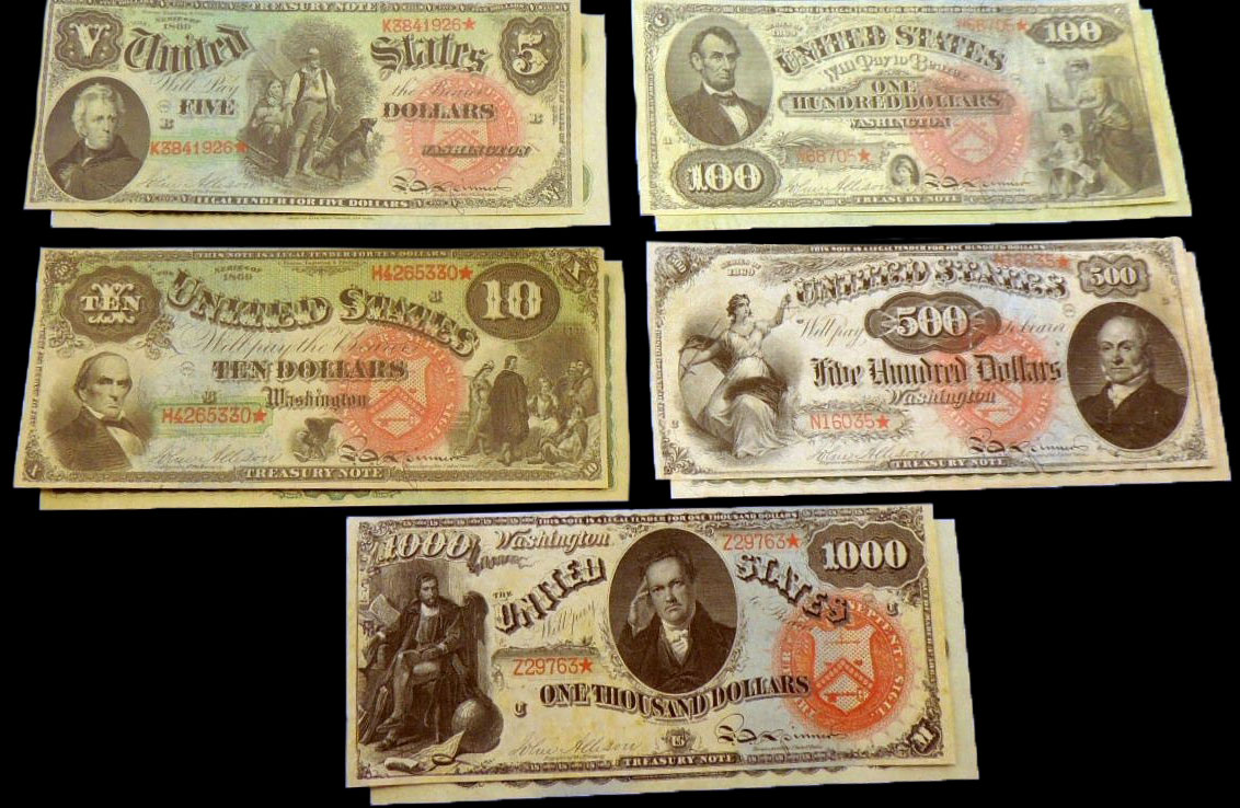 enlarged image for PRESS RELEASE: Stack's Bowers Galleries presents The Joel R. Anderson Collection of United States Paper Money