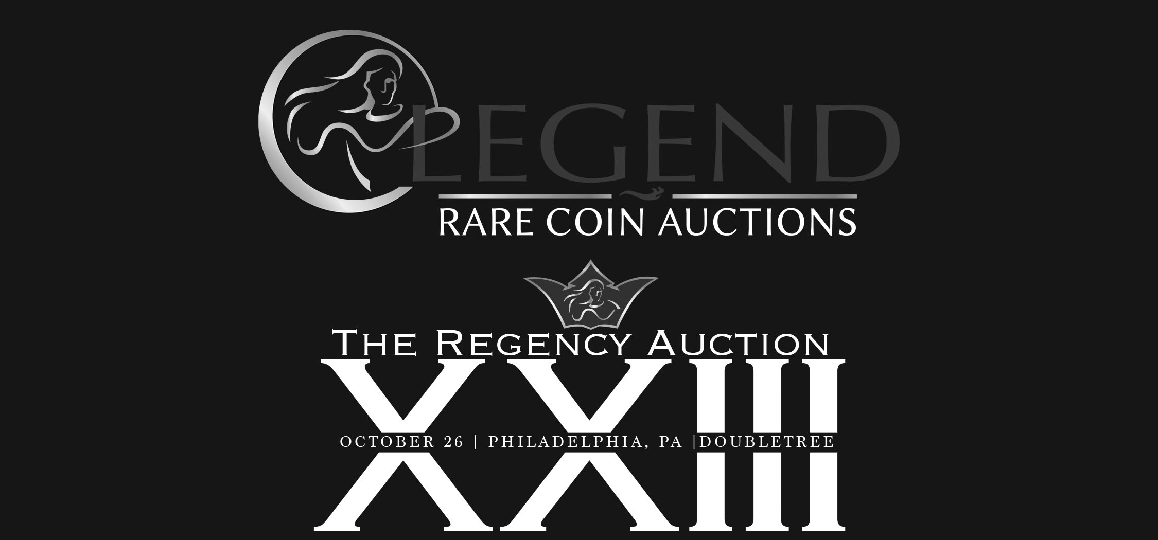main image for PRESS RELEASE: Superb Gem Key Morgan Dollars and Fresh Gold Totally Glitter in Record Shattering Offerings Legend's 23rd Regency Auction