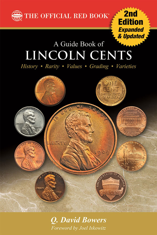 main image for PRESS RELEASE: Whitman Publishing Releases Expanded New Edition of A Guide Book of Lincoln Cents