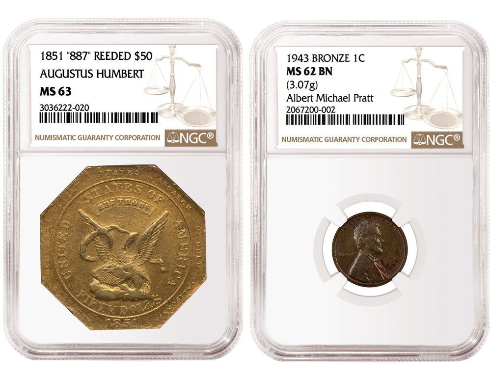 main image for NGC Vintage US Rarities Show Strength in Heritage ANA Sale