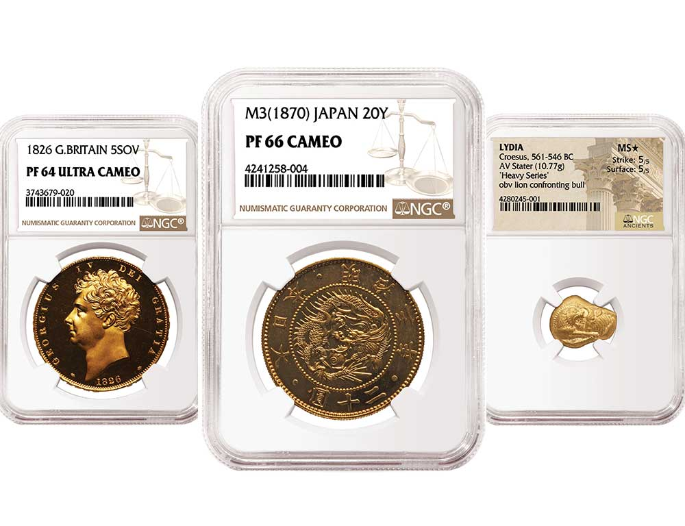 main image for NGC-certified World and Ancient Coins Top Heritage Auctions' ANA Sale