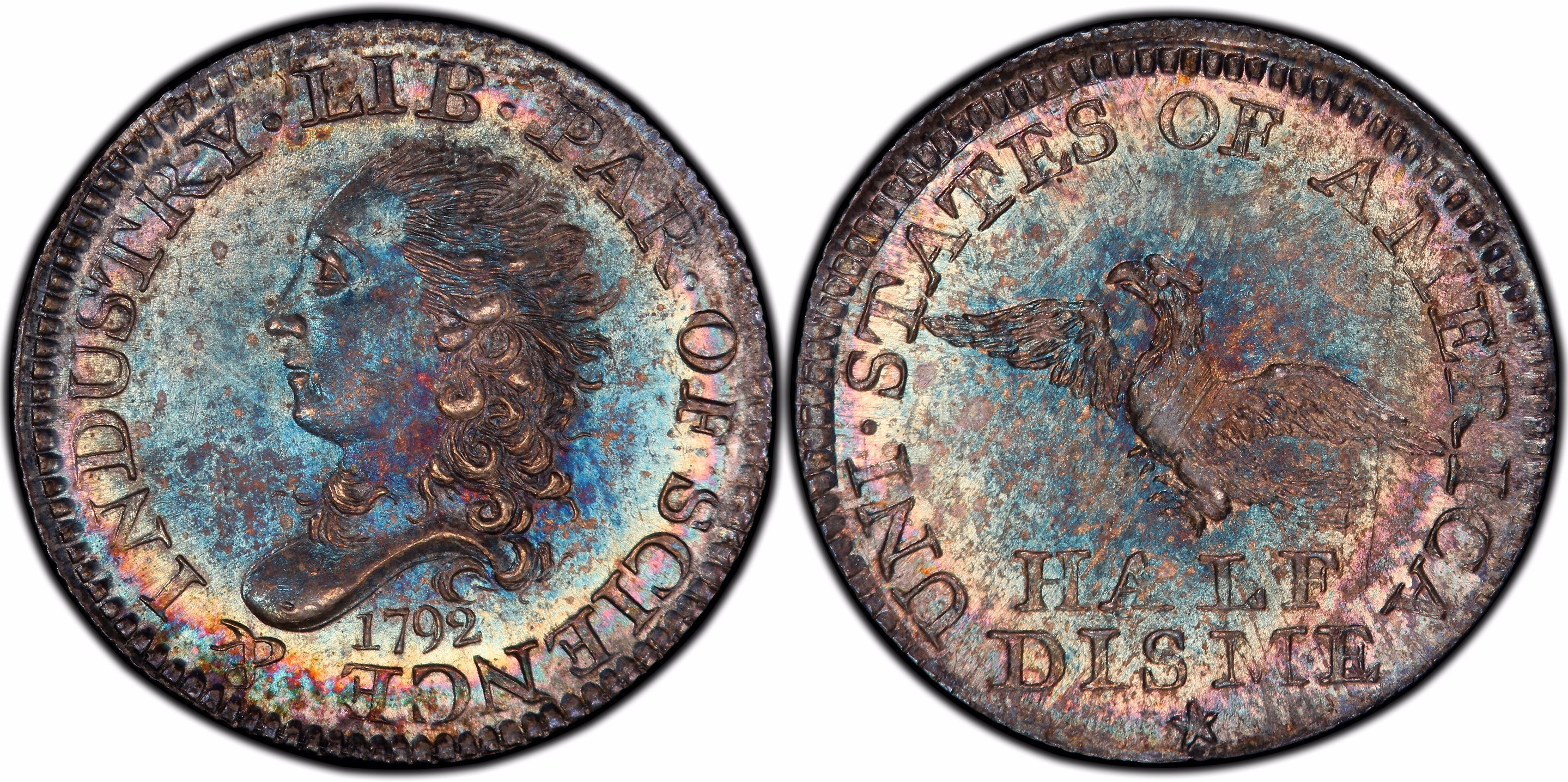 main image for 1792 Half Disme Sold For Record Price Of Nearly $2 Million