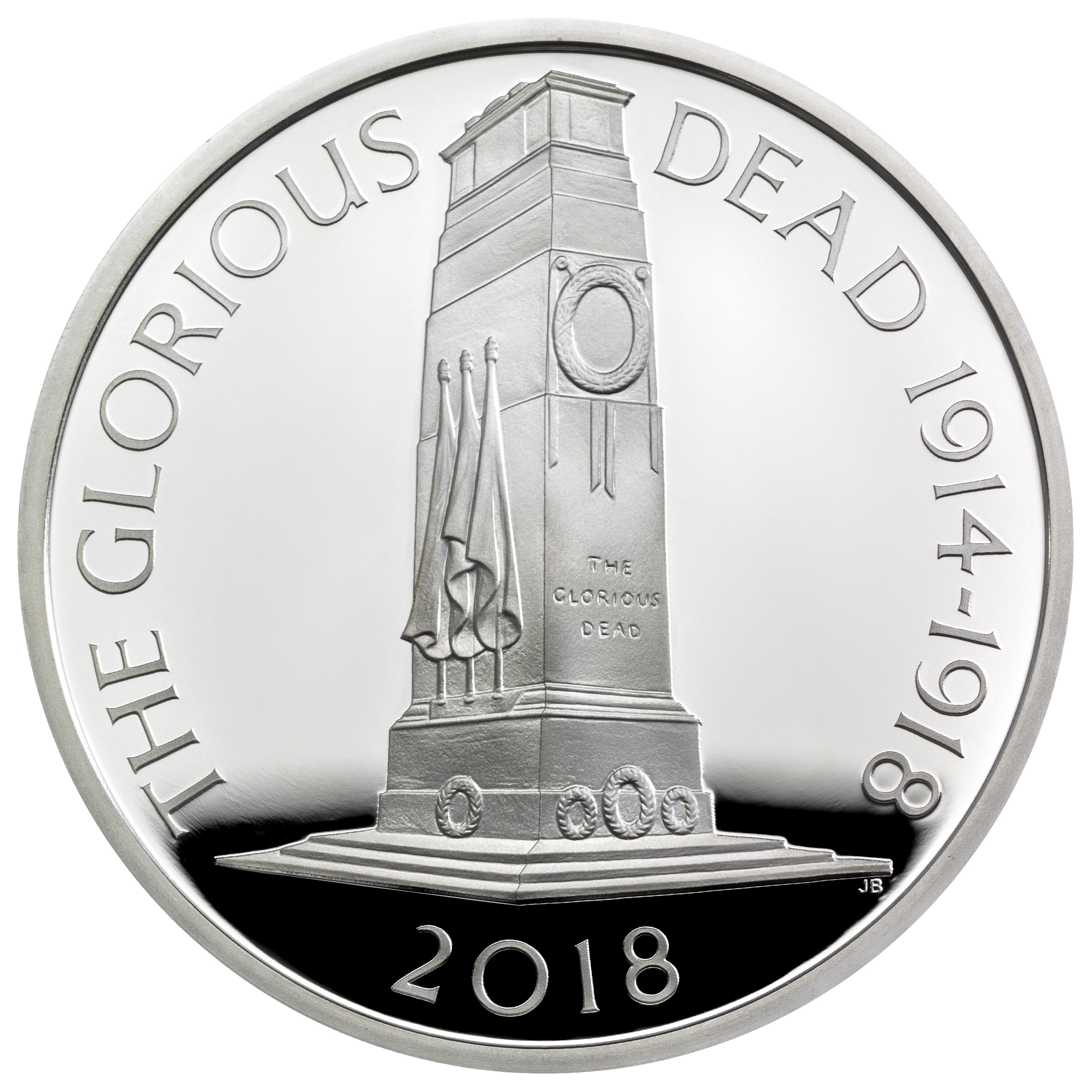 main image for British Coins Commemorate Centennial Of World War I