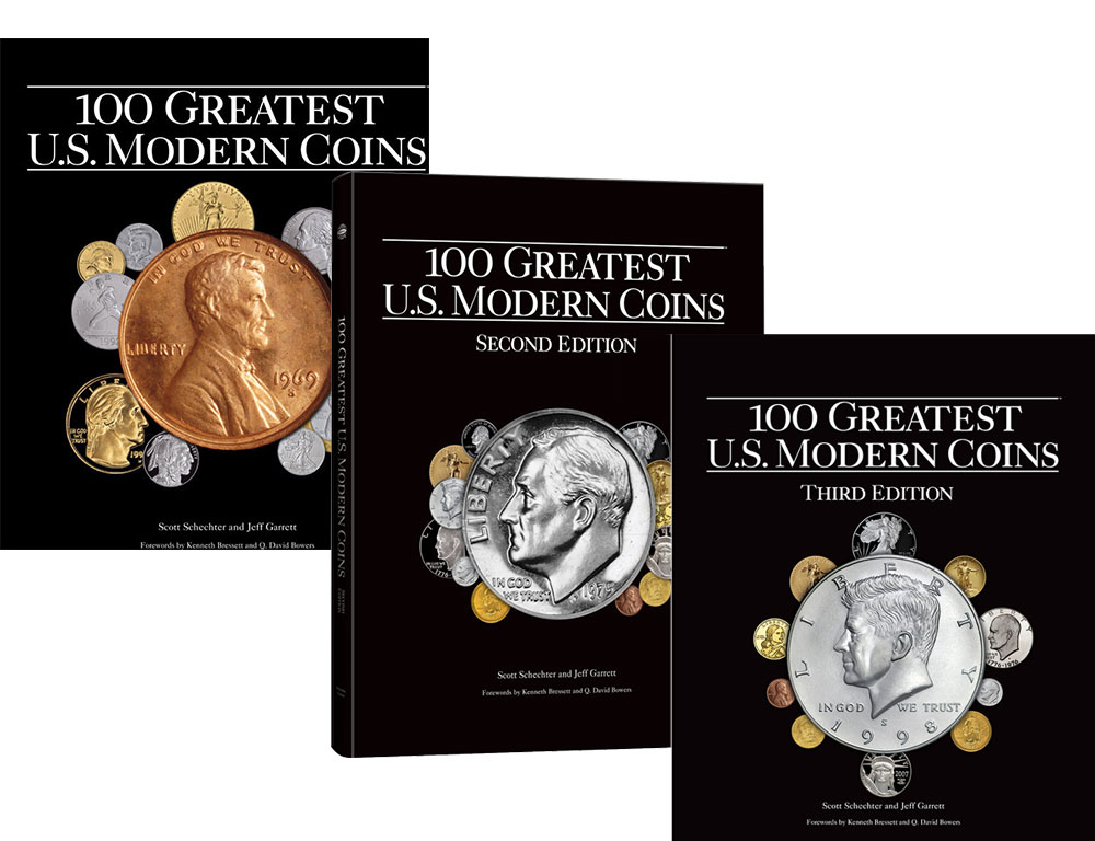 enlarged image for PRESS RELEASE: What are the Greatest Modern Coins of the United States?