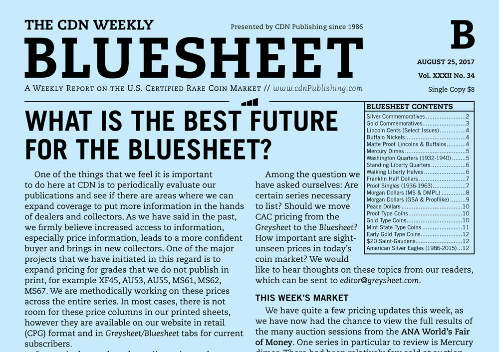 thumbnail image for BLUESHEET: WHAT IS THE BEST FUTURE FOR THE BLUESHEET?