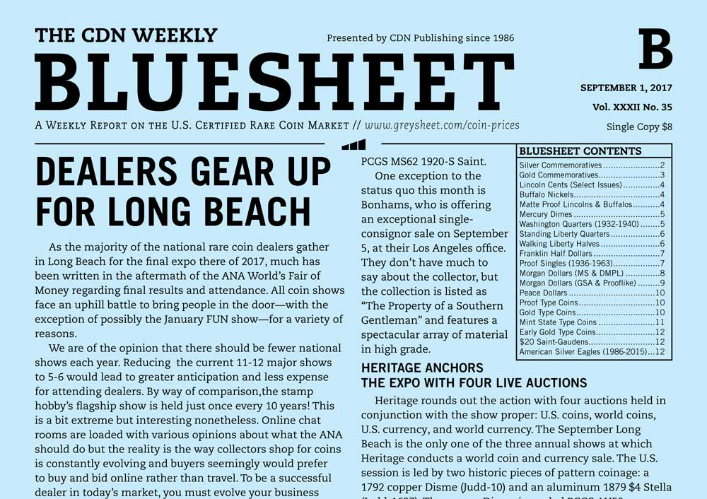 main image for BLUESHEET: DEALERS GEAR UP FOR LONG BEACH