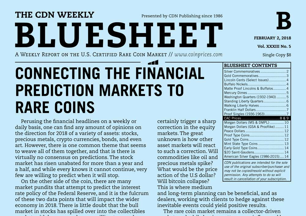 thumbnail image for BLUESHEET: CONNECTING THE FINANCIAL PREDICTION MARKETS TO RARE COINS