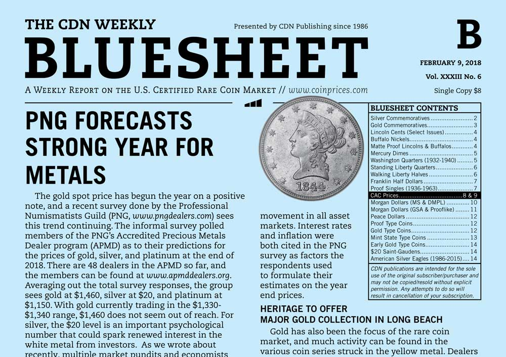 main image for BLUESHEET: PNG FORECASTS STRONG YEAR FOR METALS