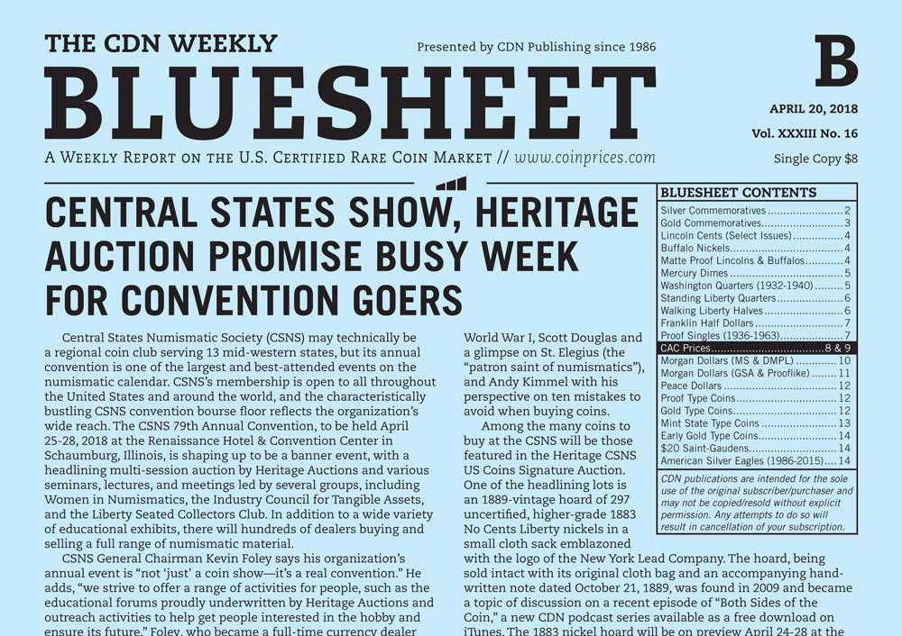 main image for CENTRAL STATES SHOW, HERITAGE AUCTION PROMISE BUSY WEEK FOR CONVENTION GOERS