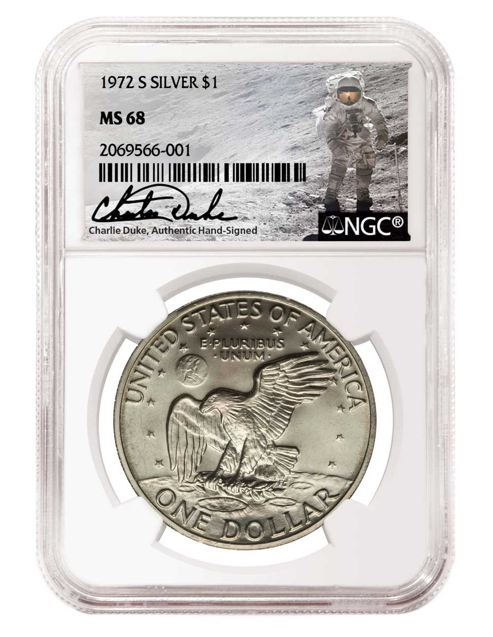 main image for PRESS RELEASE: NGC Signs Charlie Duke, Astronaut Who Walked on Moon, to Autograph Labels