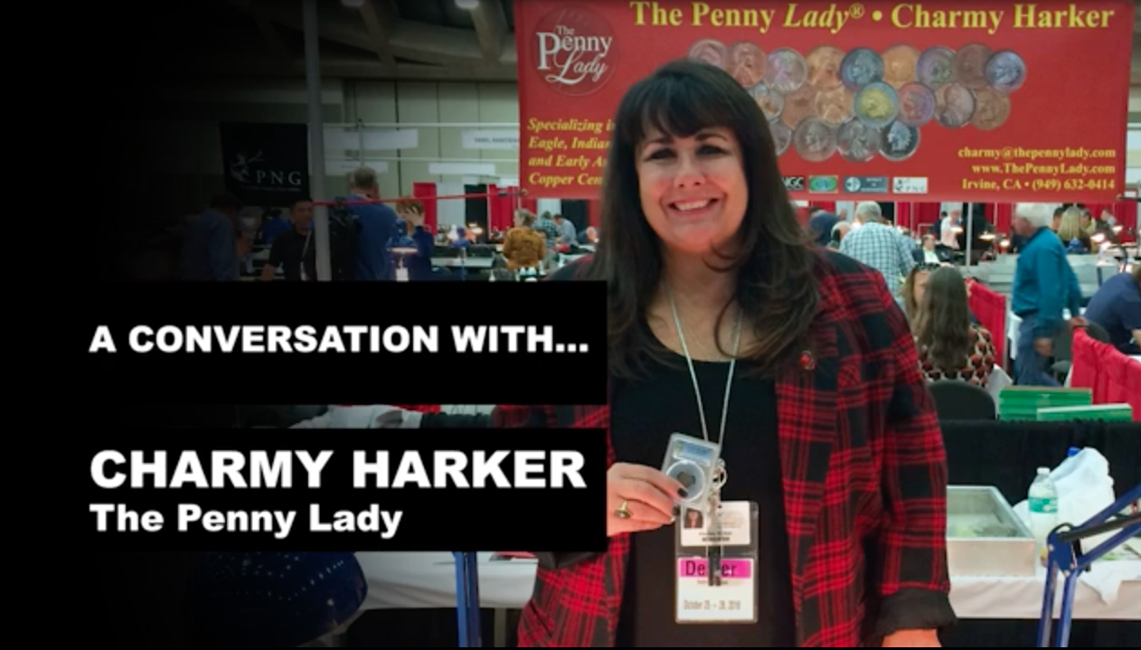 Charmy Harker, also known as The Penny Lady